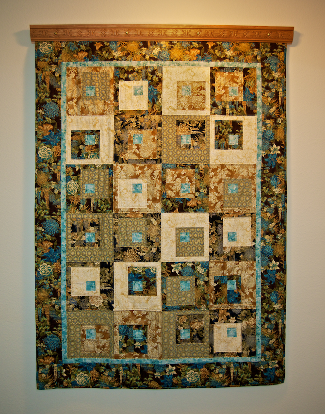 all Squared up Oriental Quilt pattern by 4th & 6th Designs Barbara Persing and Mary Hoover