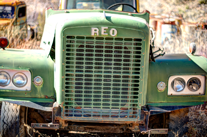 Jerome-Arizona-Ghost-Town-Junk-Old-Reo-Truck-Naomi-VanDoren-14