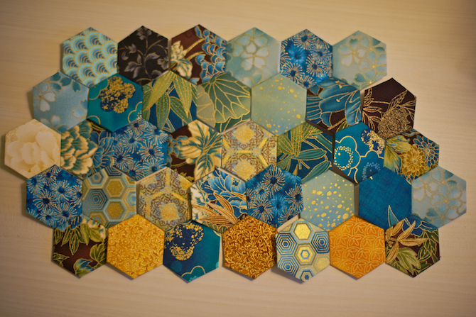 Hexagon Quilt | NaomiVanDoren.com