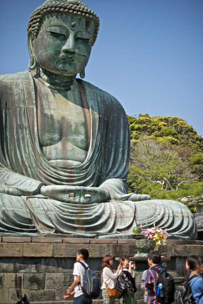 Kamakura Kotokuin Buddha | NaomiVanDoren.com