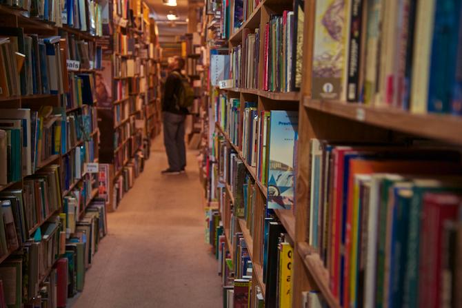 Bookstore, Brisbane Australia | NaomiVanDoren.com