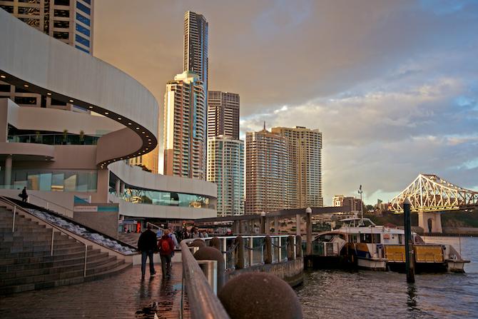 Sunsets Brisbane, Australia | NaomiVanDoren.com