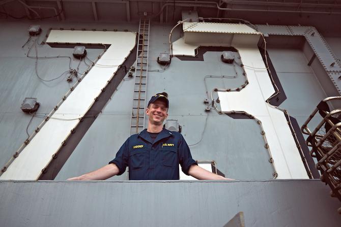 USS George Washington Family Day Cruise, Yokosuka Japan | NaomiVanDoren.com