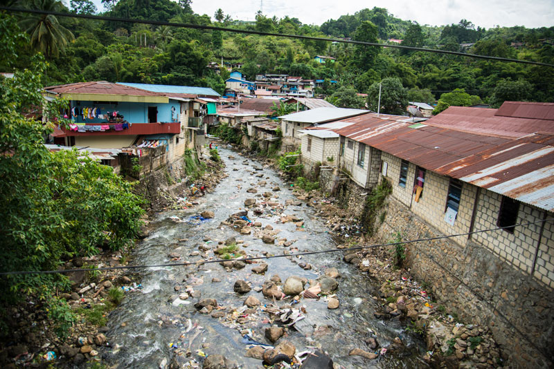 Jayapura Indonesia  city photo : homes on dirty river 2 Jayapura Papua Indonesia Naomi VanDoren