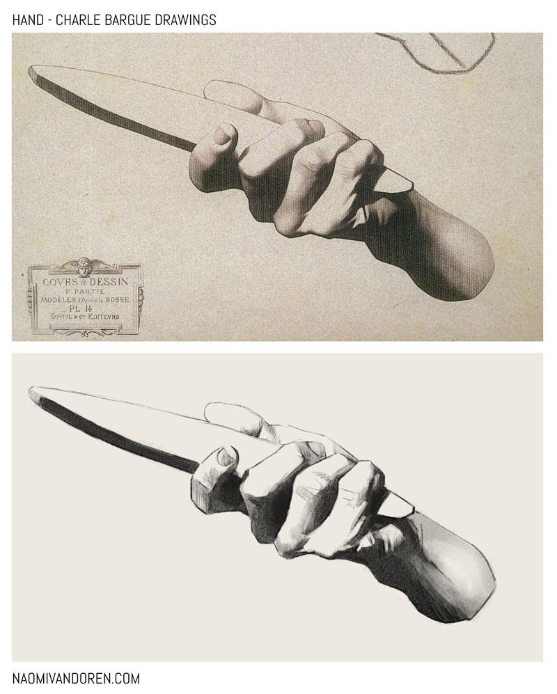 Bargue-Drawings-Hand-1-Naomi-VanDoren