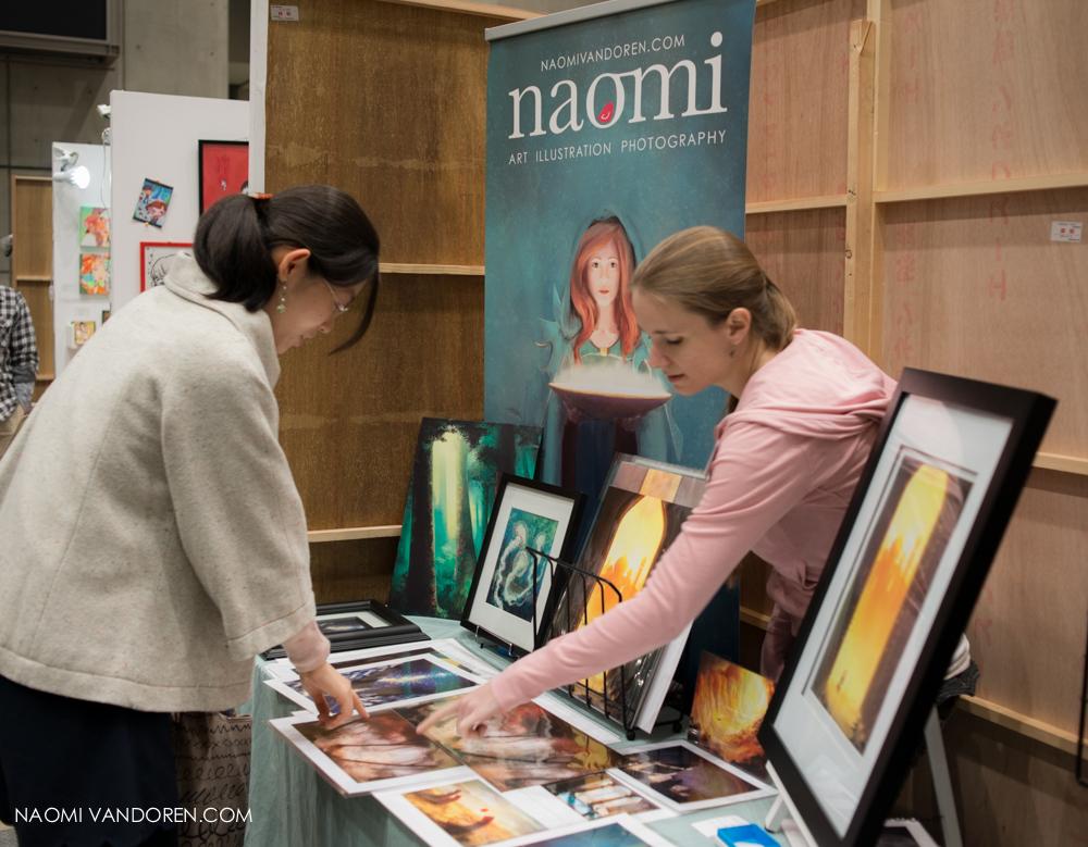design festa tokyo japan art show naomi vandoren-57.jpg
