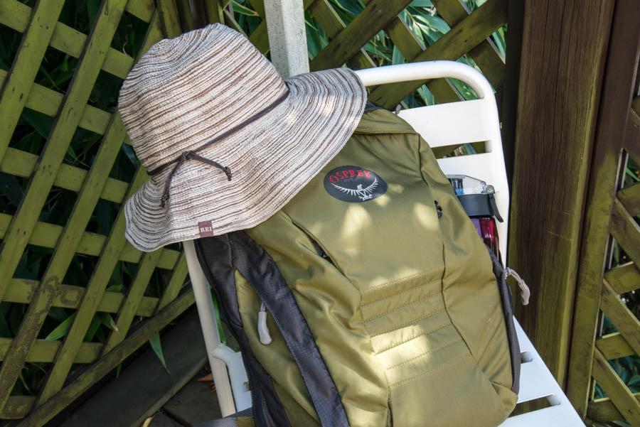 Naomi VanDoren What is in my daypack post