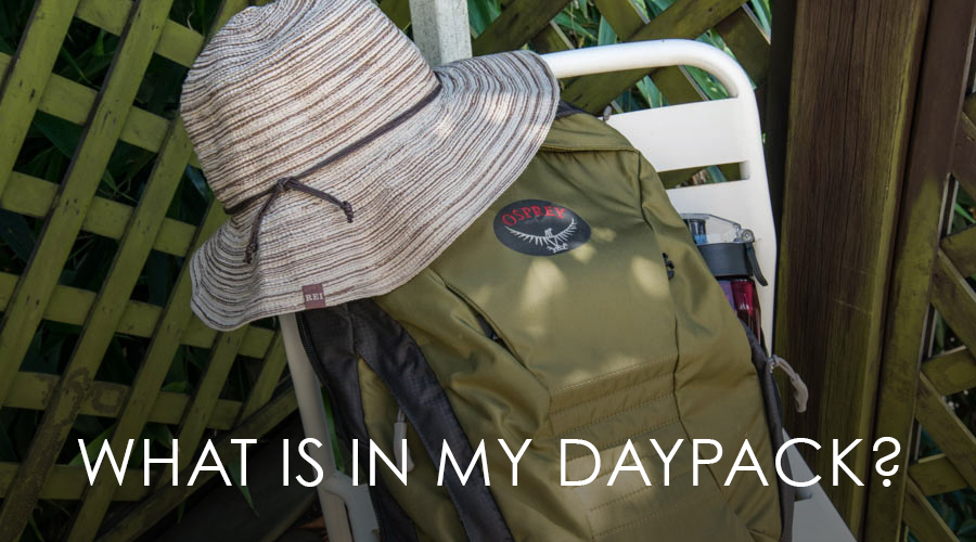 Naomi VanDoren What is in my daypack post