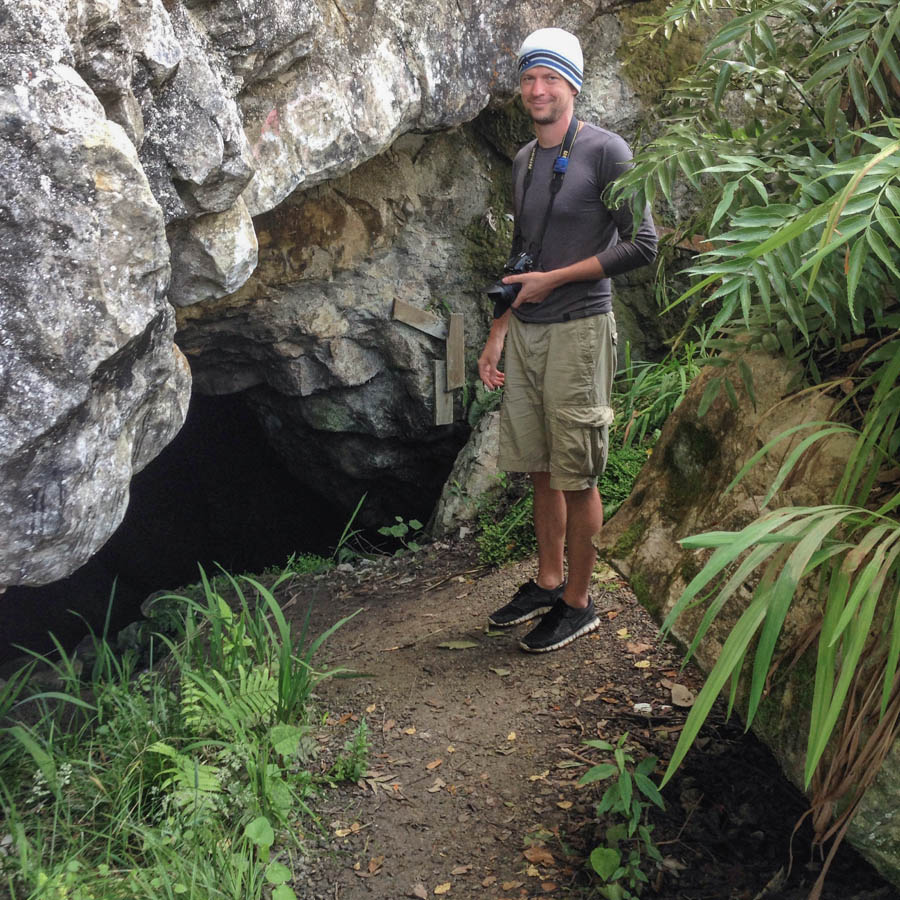 Naomi VanDoren New Zealand Travel Day 5 Cave