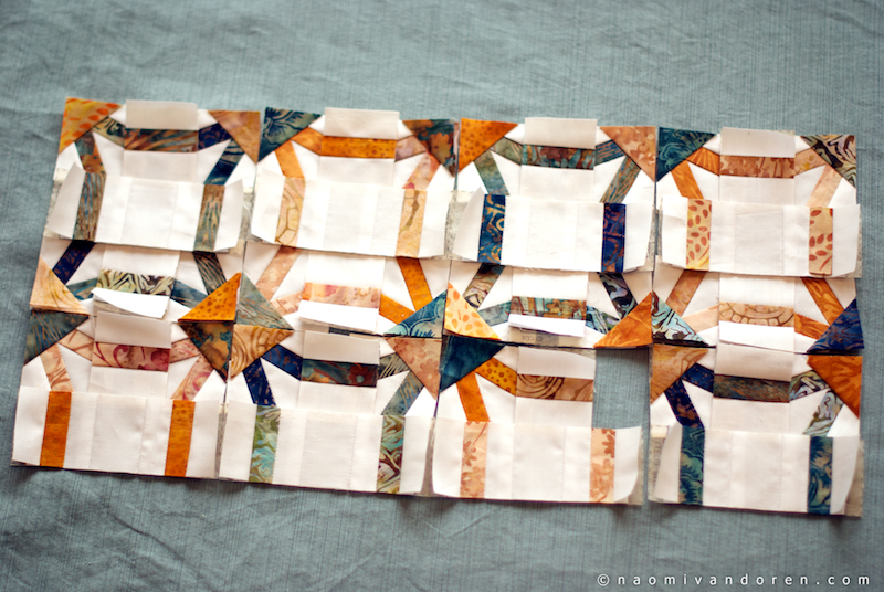 mini wedding ring quilt naomi vandoren
