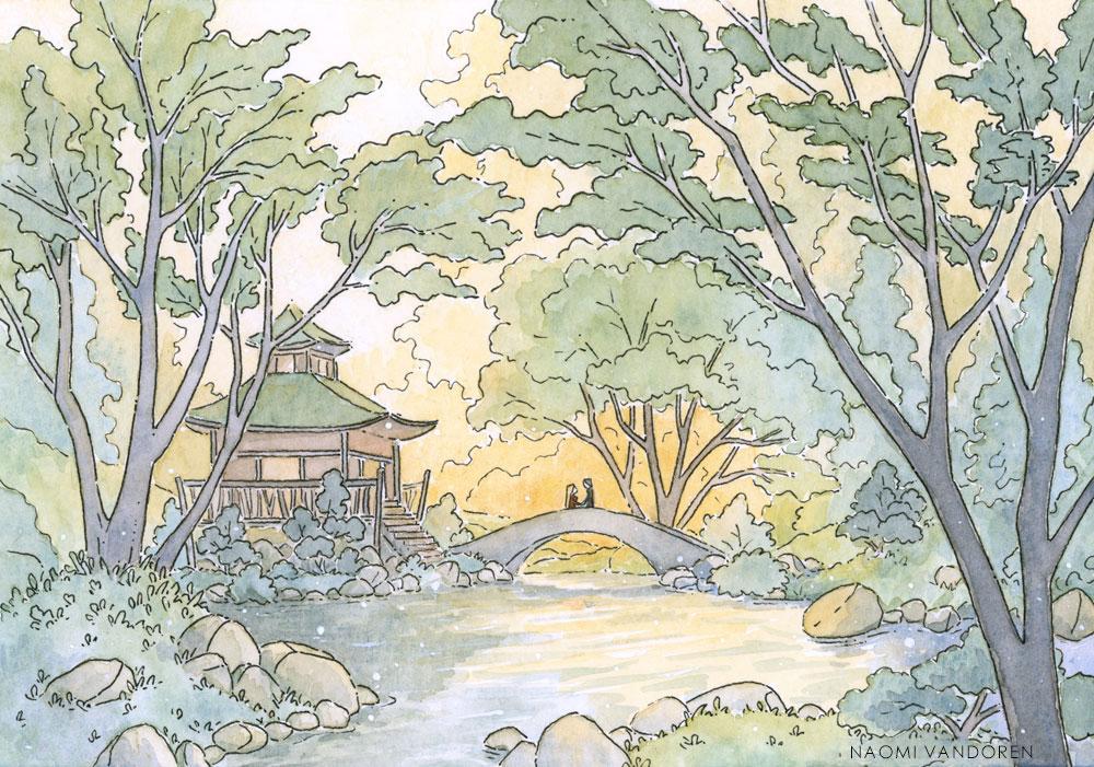 Dream - 2016 Watercolor & Pen.5 x 7 inchesOriginal Sold | Prints & Merchandise