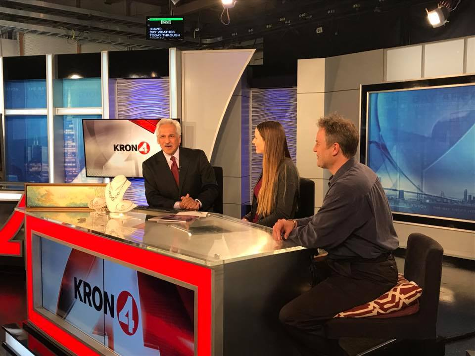 Kron 4 news Interview Naomi vandoren