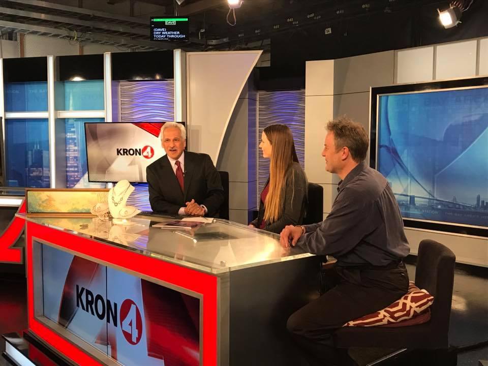 Kron 4 news Interview Naomi vandoren