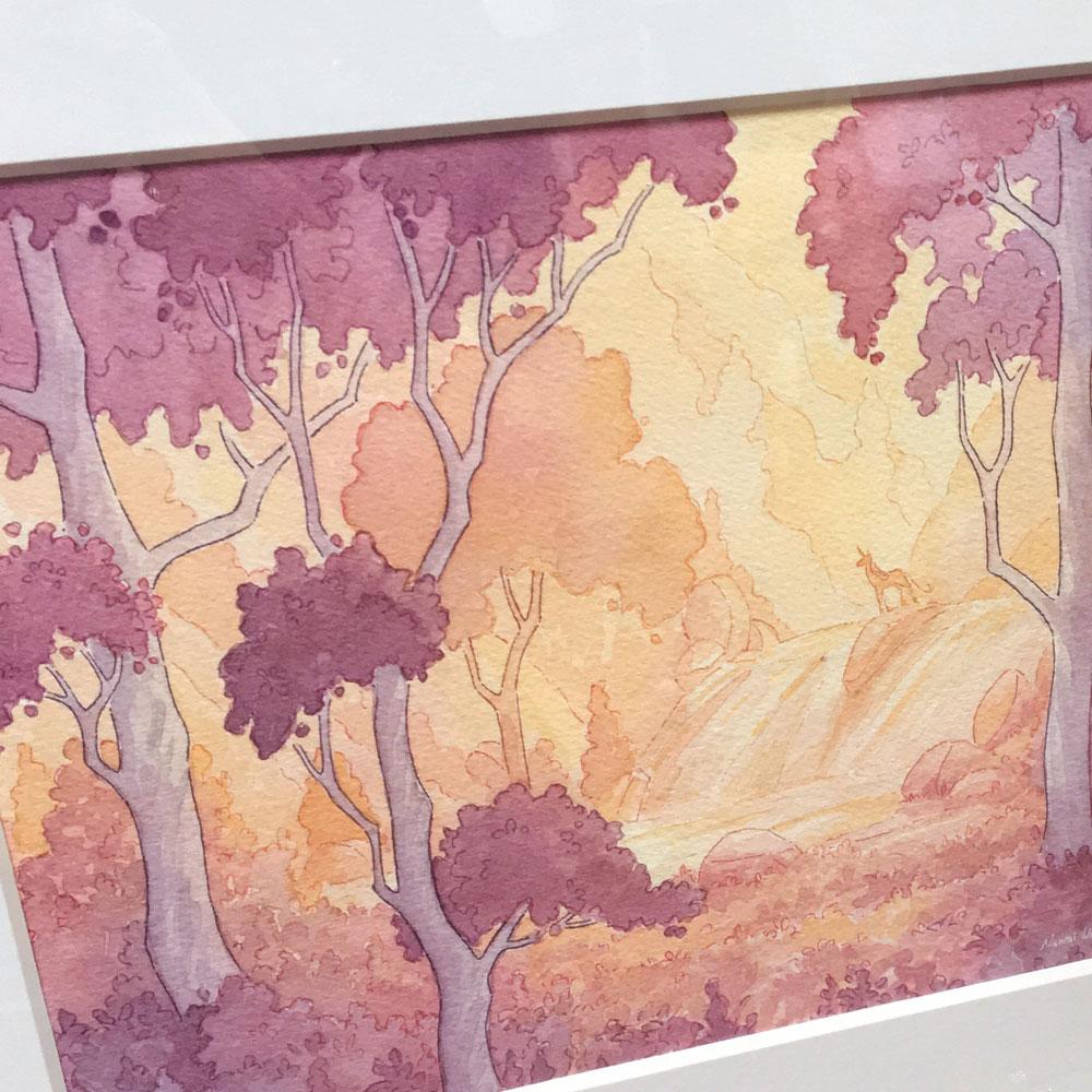 The Last Unicorn - Framed Original — Naomi VanDoren