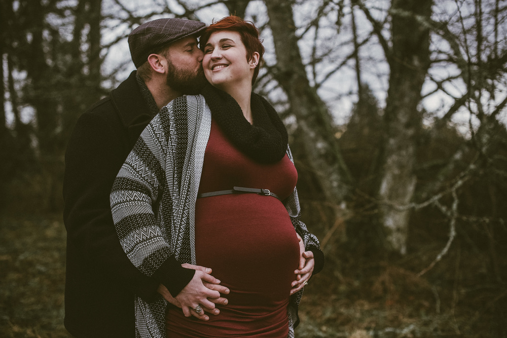 maternity session in seattle