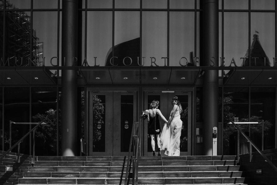seattle court house elopement