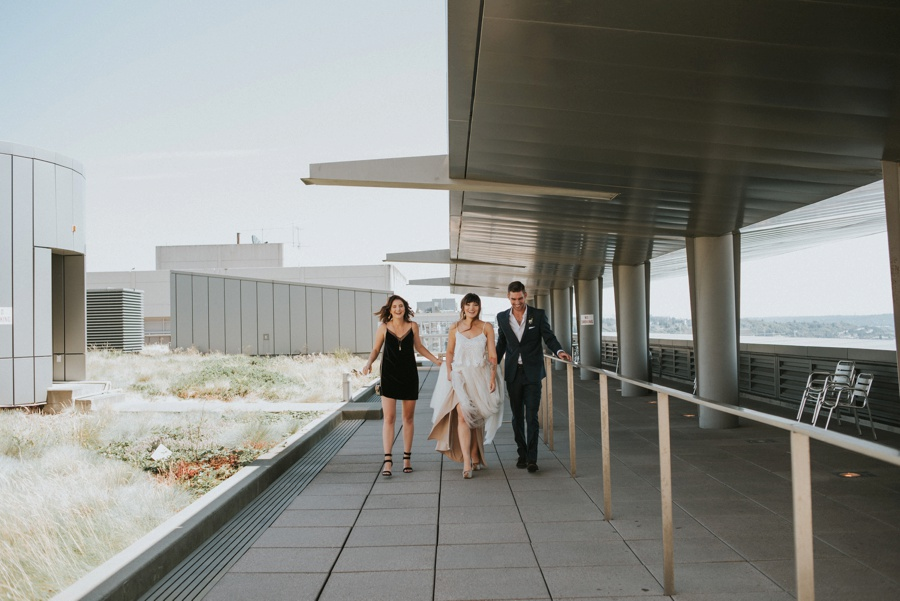 seattle court house roof top ceremony