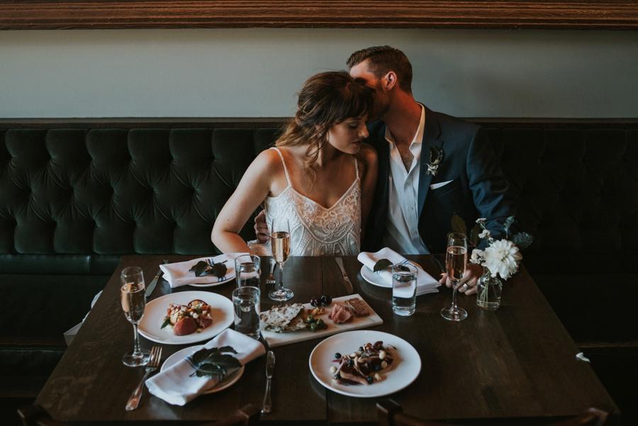 elopement reception