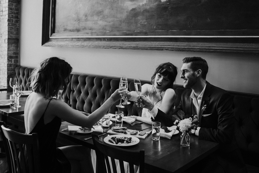 toast after elopement