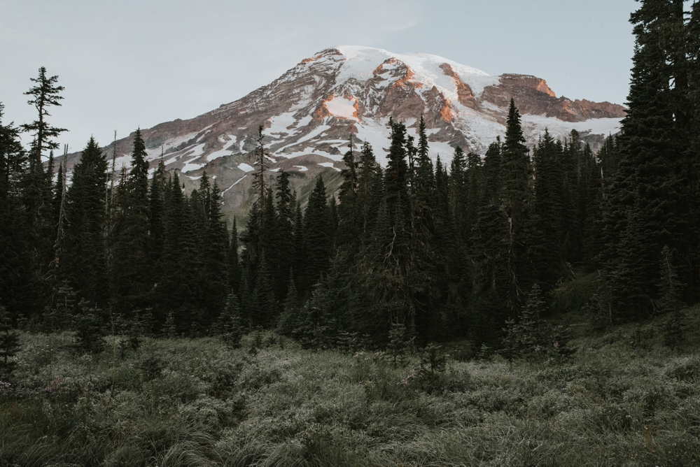 sunrise mount rainier