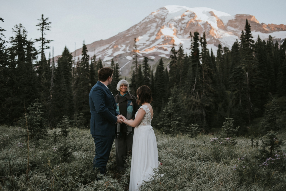 mount rainier elopement