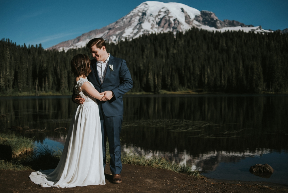 elopement at mount rainier