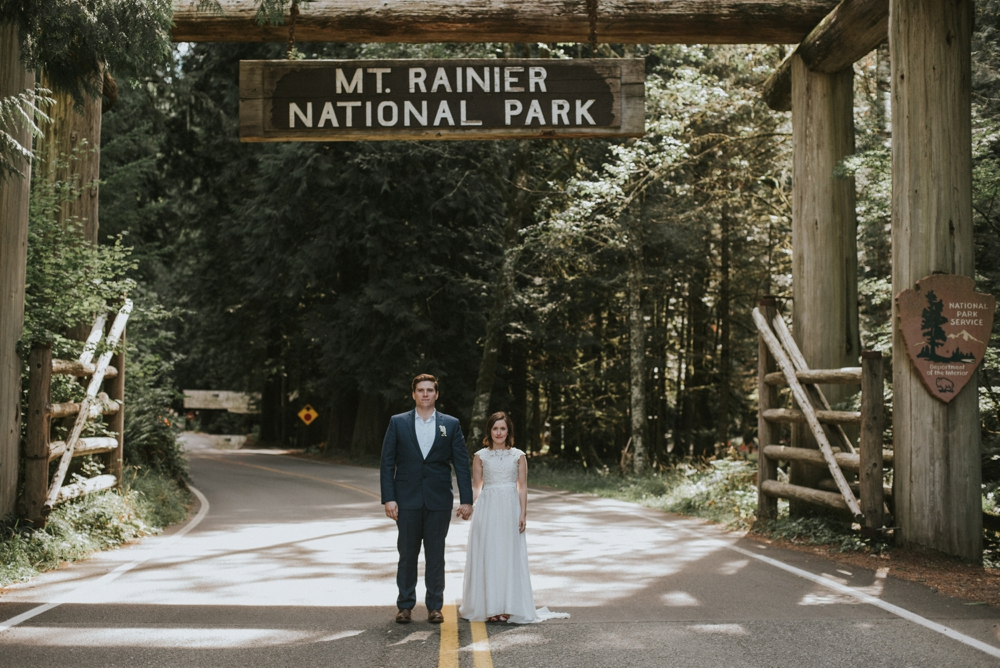 elopement at mt rainier