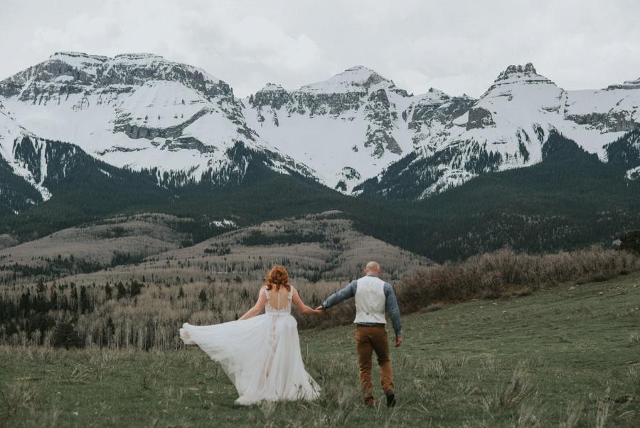 san juan mountains elopement