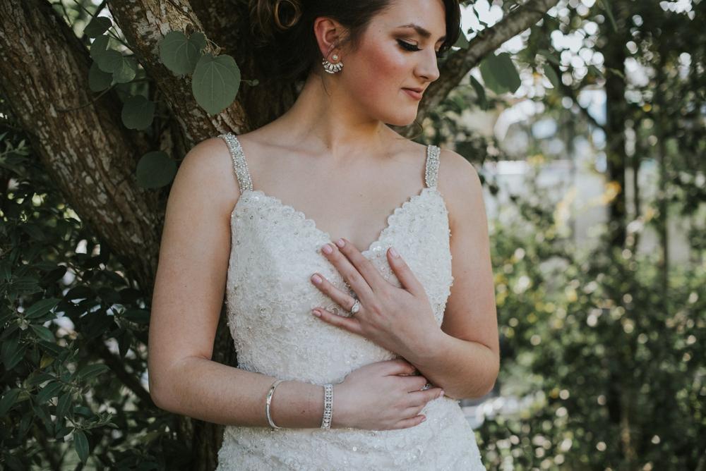 bride at elopement