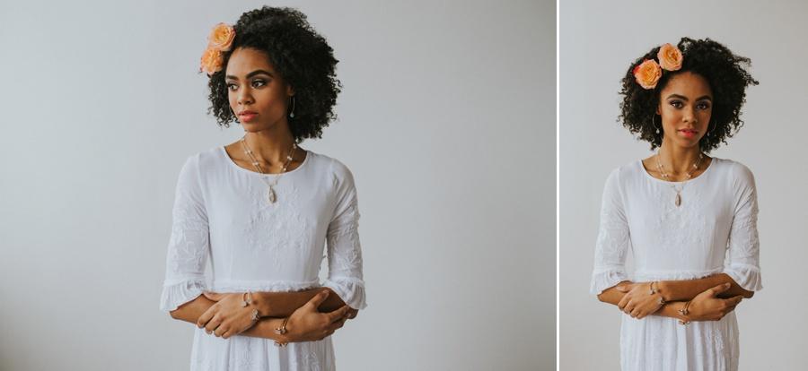 studio bridal portraits