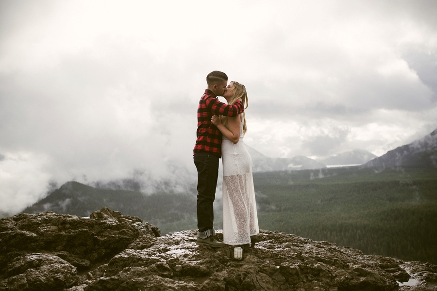 mountain elopement