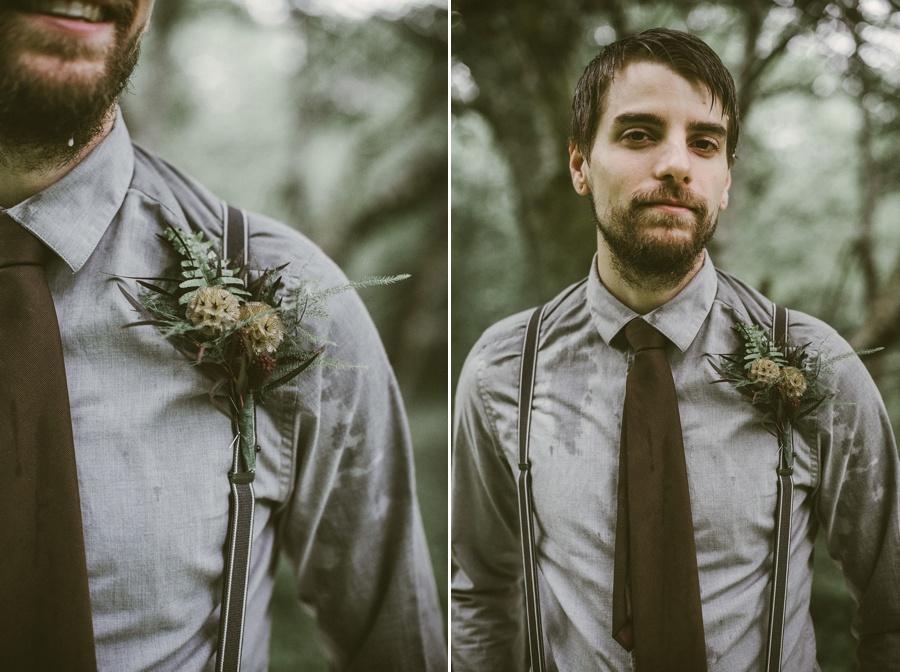 groom at rattlesnake lake elopement