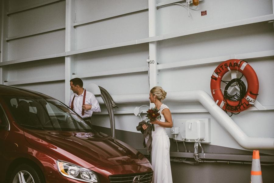 ferry wedding