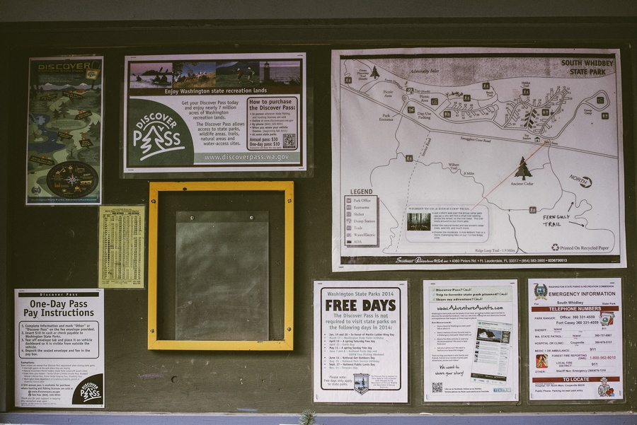 south whidbey island state park map