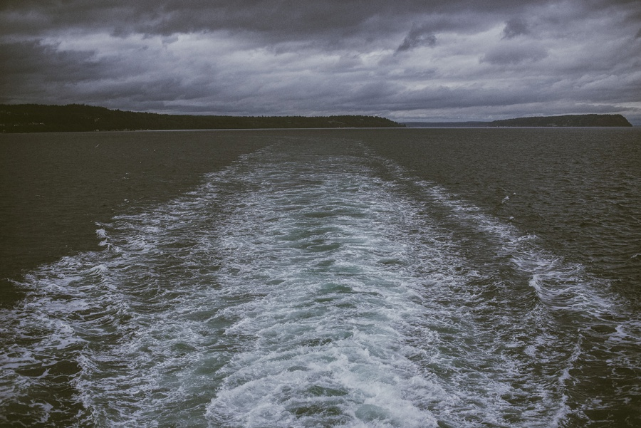 ferry waves