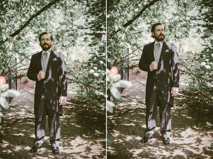 groom at snoqualmie falls