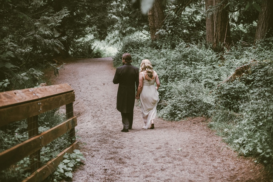 seattle forest elopement