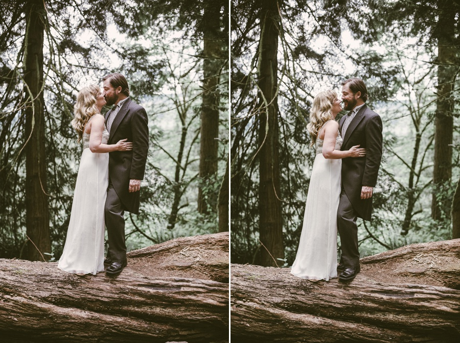 seattle forest elopement photographer