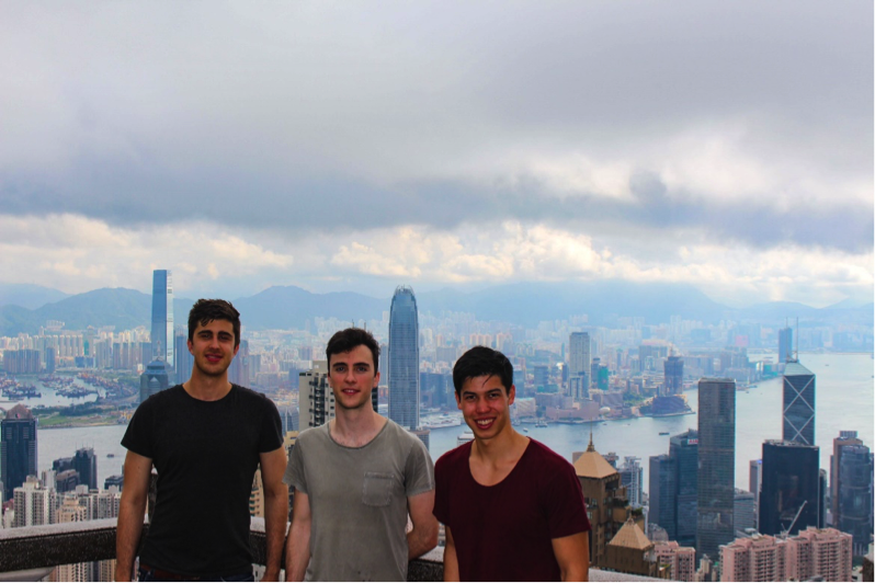 Victoria Peak Lookout (Jeremy, Tim, Sam)