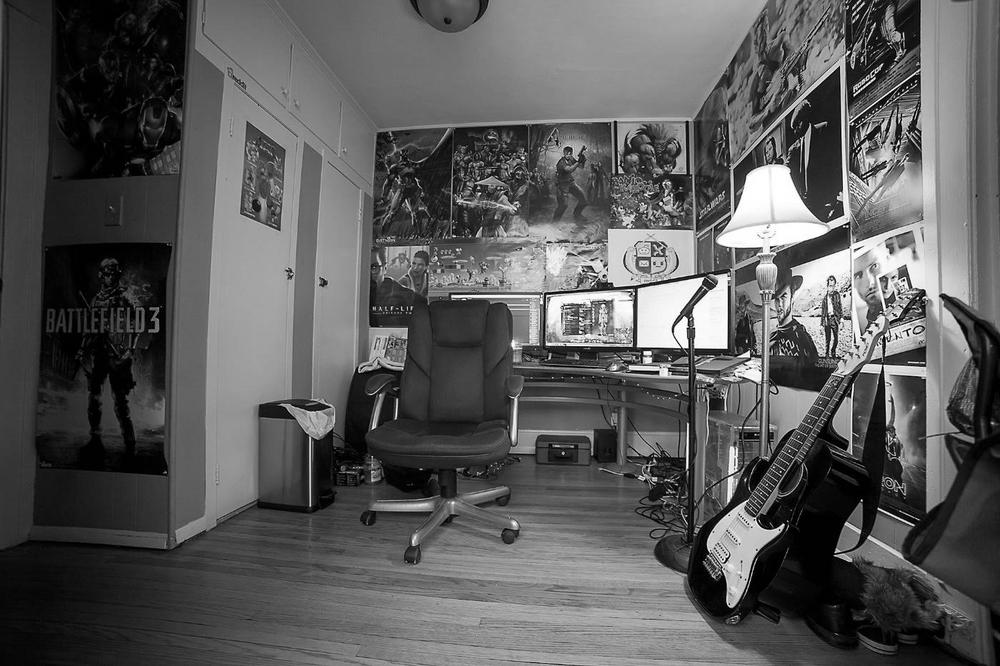 Dan's Naperville studio