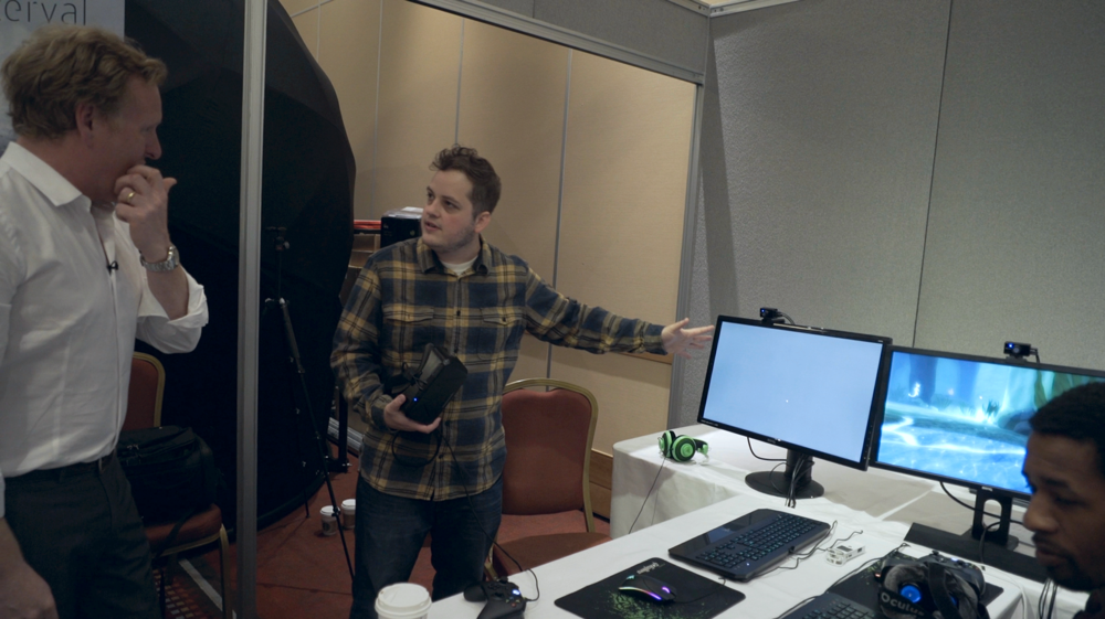 Setting up one of the hundreds of VR user tests I've conducted- this one with the BBC in Bristol, UK. Watch this video for a full breakdown.