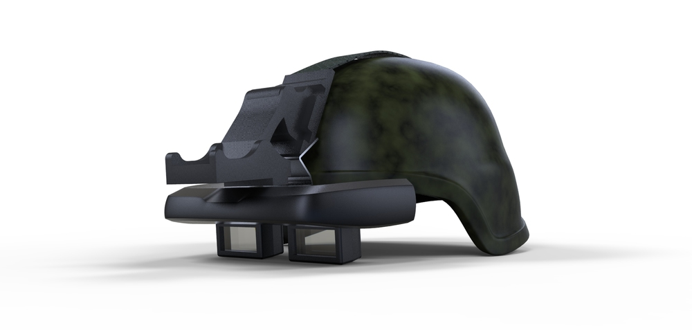 Airo helm Helmet mounted display
