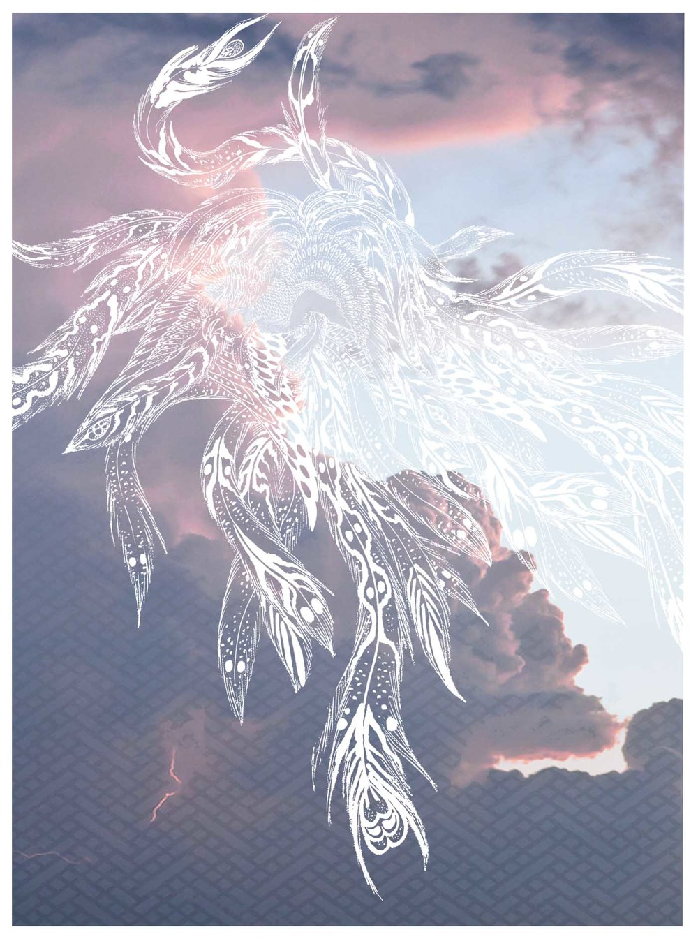 Phoenix Cloud Print - Horiyoshi The Third X Bella Gomez