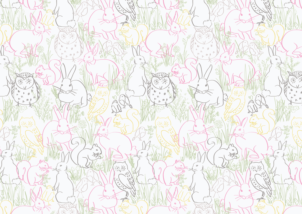 Woodland-outline-print-white by Bella Gomez.jpg