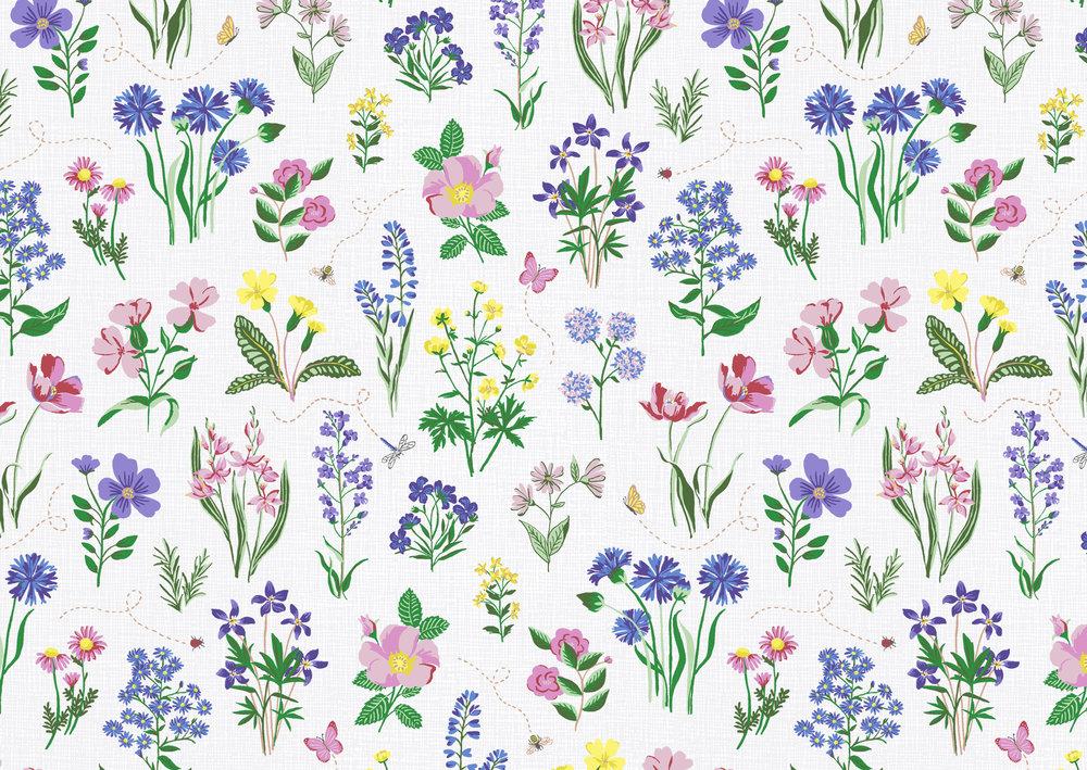 Spring Garden Print // Bella Gomez