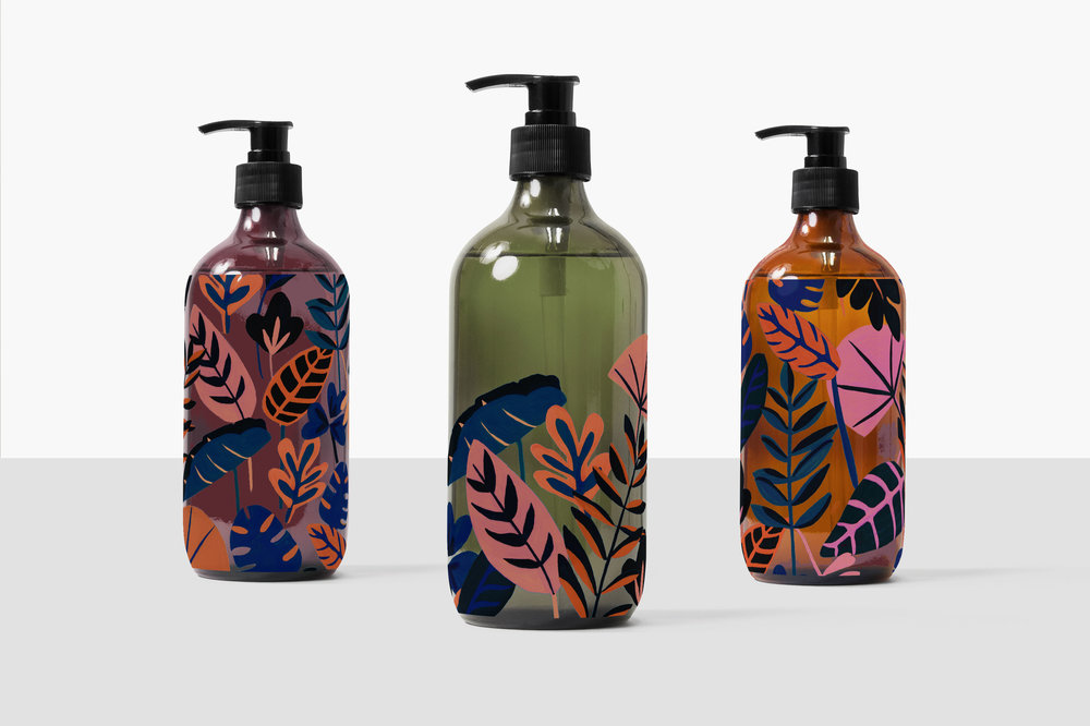 Azure Print-Packaging // Bella Gomez