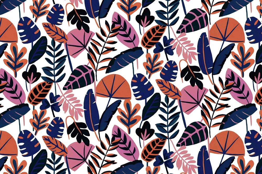 Azure Print // Bella Gomez