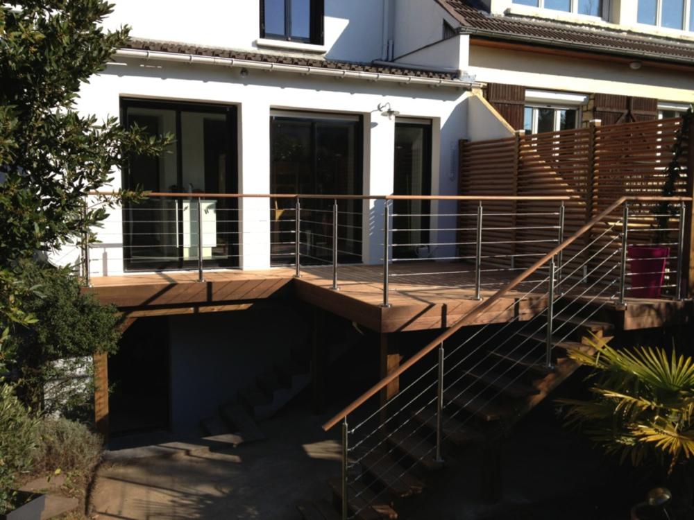Balustrades et Gardecorps — Terrasses Grad