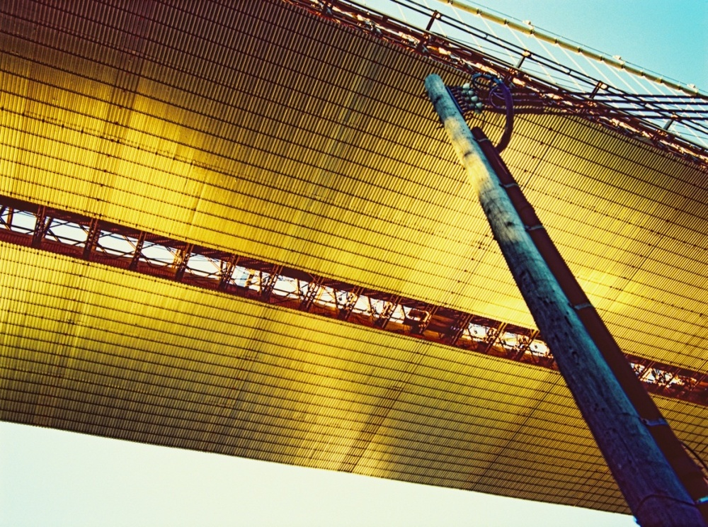 GOLD BROOKLYN BRIDGE