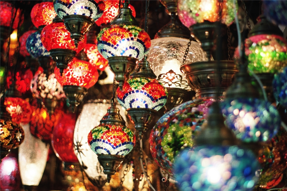 Istanbul Glass Lanterns Rhianna May Travel Photography